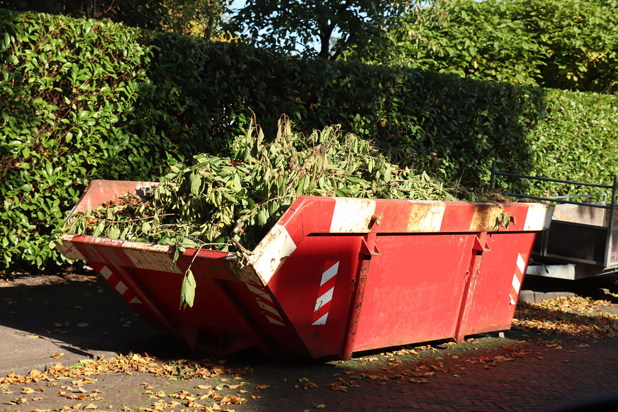 brush and landscaping dumpster rental